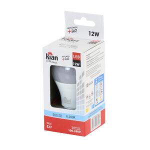 Lampada Kian LED Bulbo 12W 6.500K 100-240V